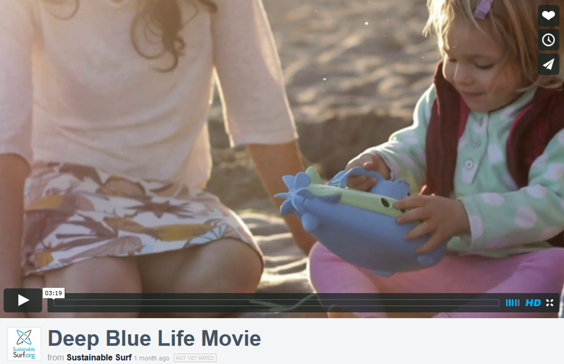 Deep Blue Life Movie Trailer Image