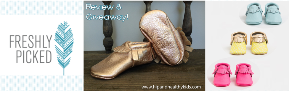 Freshly Picked Moccasins + Giveaway