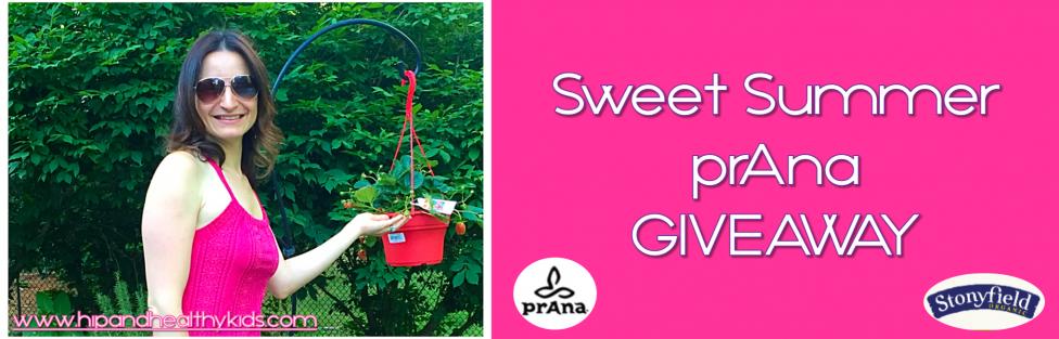 Sweet Summer prAna Giveaway