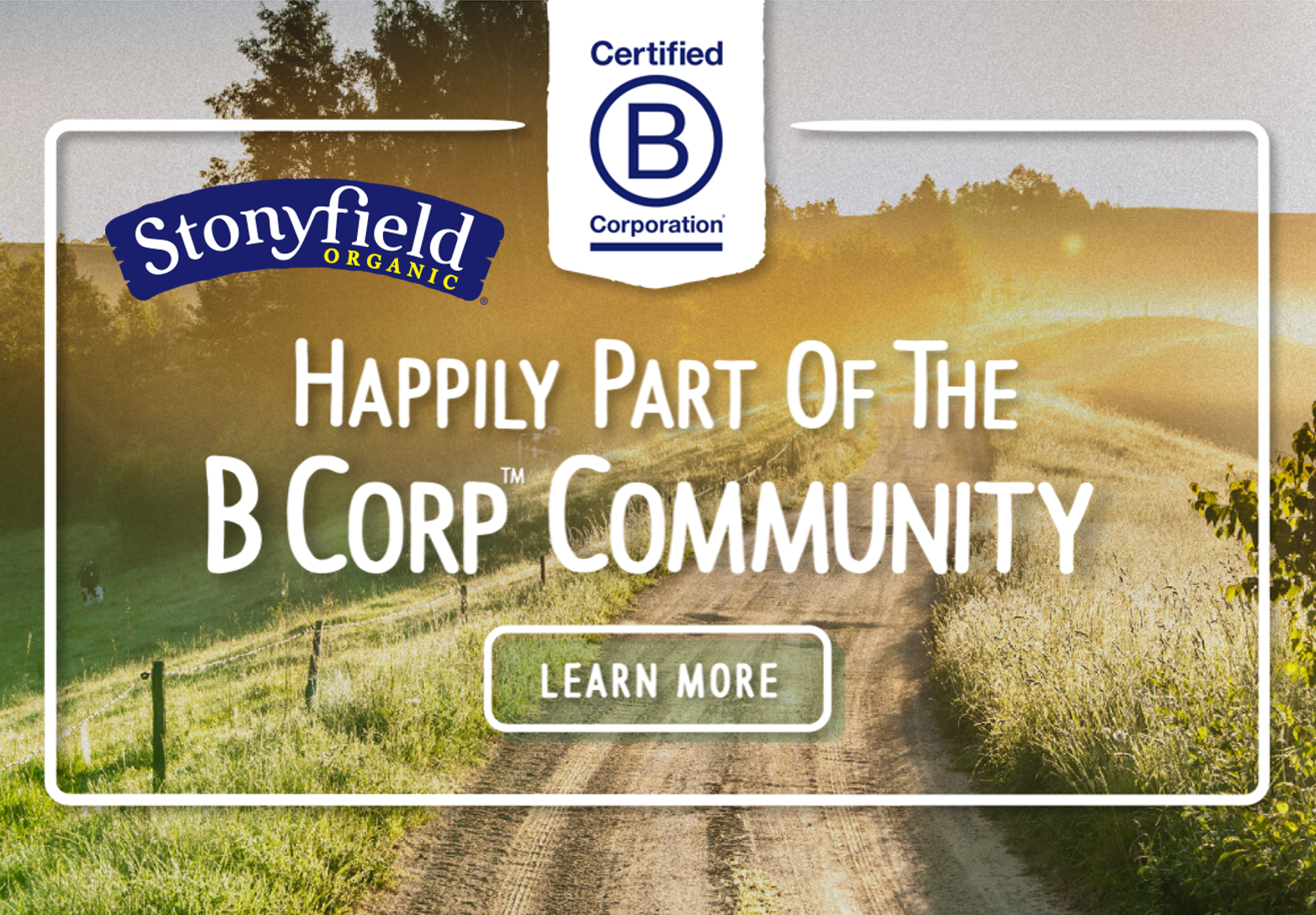 Stonyfield Becomes B Corp Certified Hip Healthy Kids